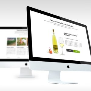 diseño web finca las caraballas tienda online