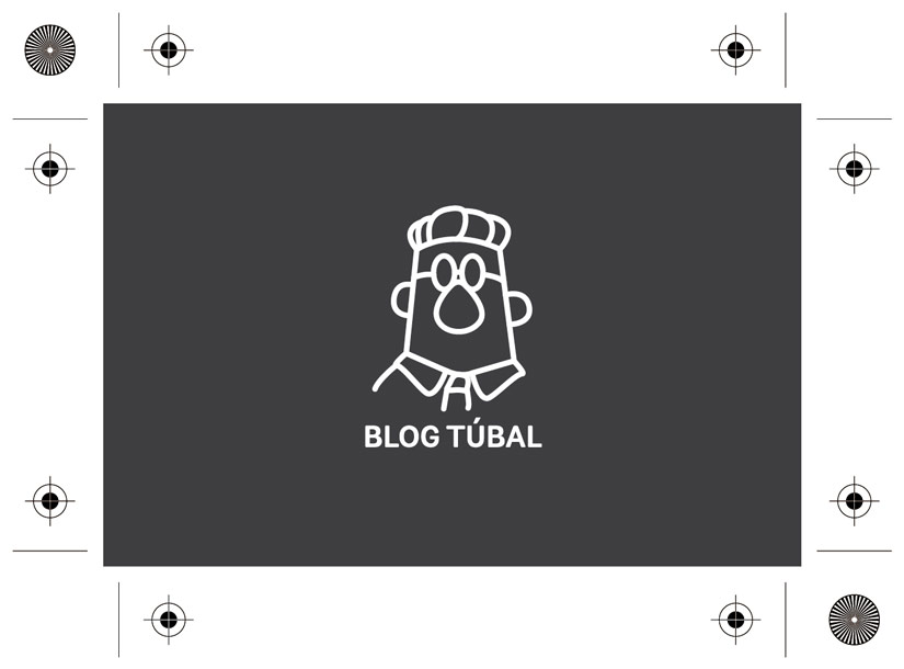 Diseño Imagen Corporativa Blog Túbal Tarjeta de Visita