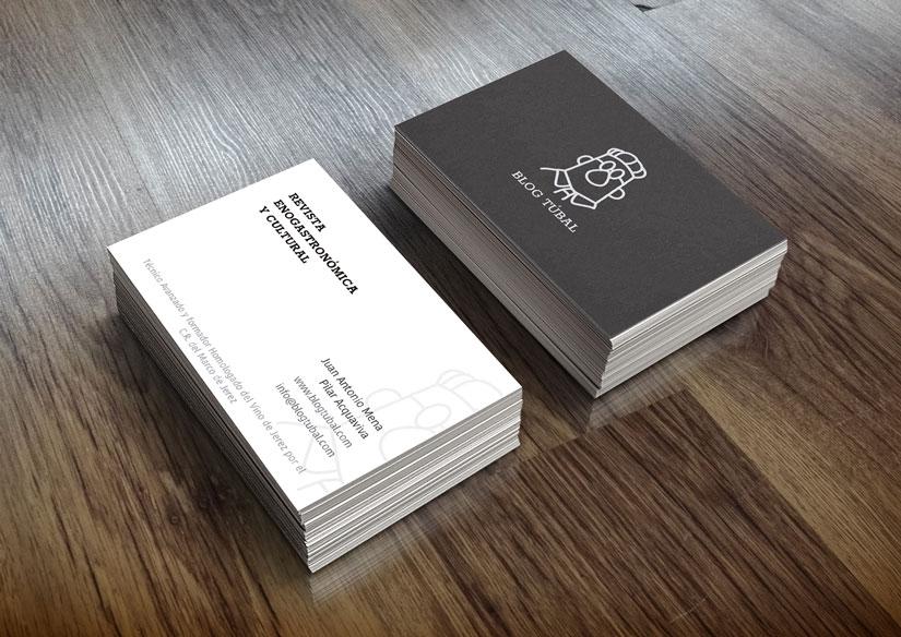 Diseño Imagen Corporativa Blog Túbal