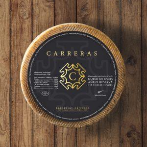 Quesos Carreras: diseño de etiqueta e imagen corporativa