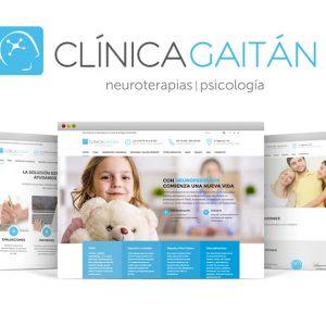 Clínica Gaitán: Diseño Web & SEO
