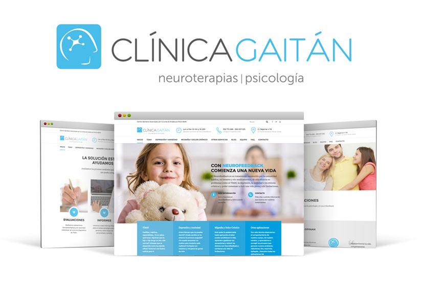 clínica gaitán diseño web seo
