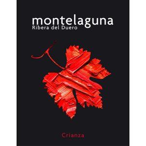 Montelaguna Diseño de etiquetas Cádiz Vino Crianza