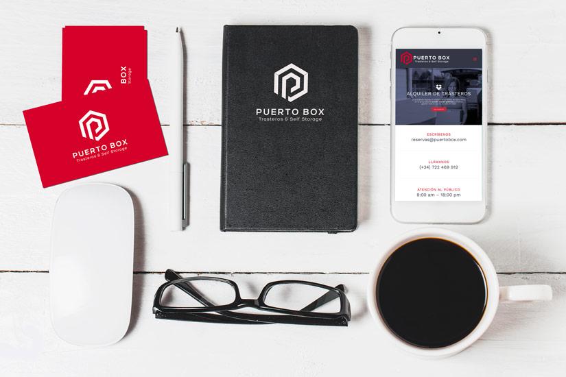 Trasteros Puerto Box Diseño Página Web El Puerto Al Sur Estudio