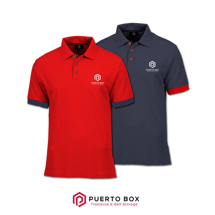 Trasteros Puerto Box Diseño Polos Web Logotipo Al Sur Estudio