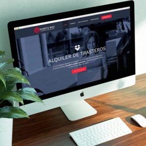 Trasteros Puerto Box Diseño Web y Logotipo