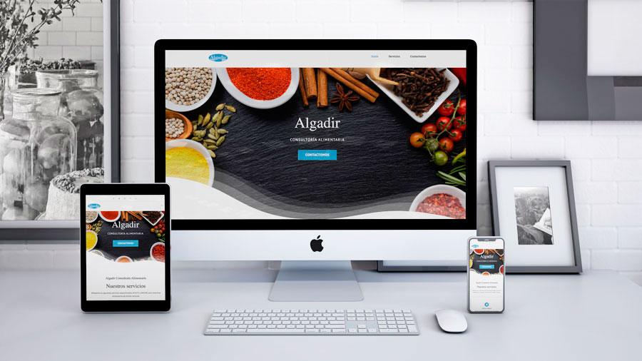 Algadir Consultoría Alimentaria Web Al Sur Estudio