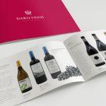 Daro Vinos Distribuciones Logotipo + Web + Catálogo de Vinos