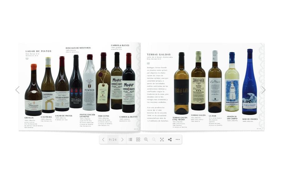 Daro Vinos Distribuciones Logotipo, Diseño Web Responsive, Diseño de Marca y Catálogo de Vinos Al Sur Estudio El Puerto Santa María Catálogo Online