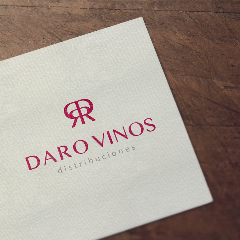 Daro Vinos Distribuciones Logotipo, Diseño Web Responsive, Diseño de Marca y Catálogo de Vinos Al Sur Estudio El Puerto Santa María Diseño Logo