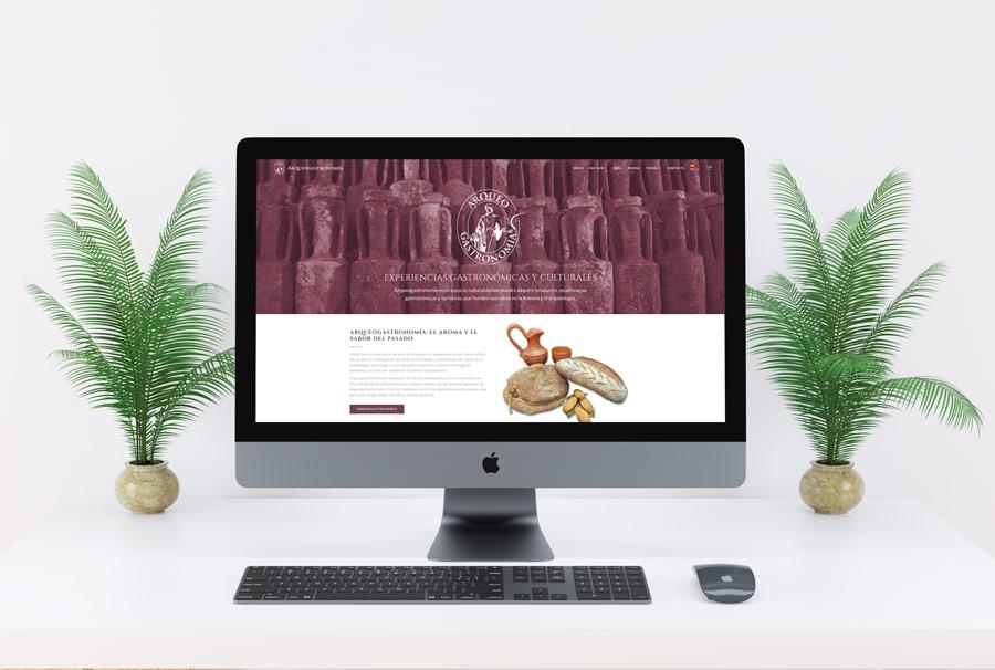 Arqueogastronomía Web Tienda Online Al Sur Estudio Diseño Web