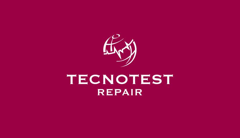 Tecnotest Repair Restyling de marca logotipo corporativo