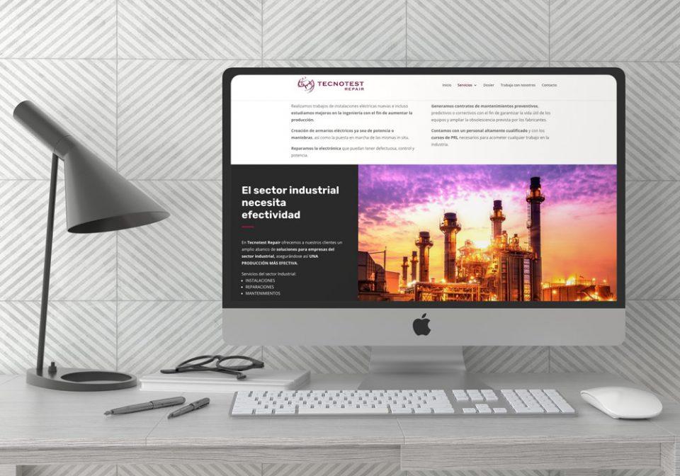 Tecnotest Repair Restyling de marca Web