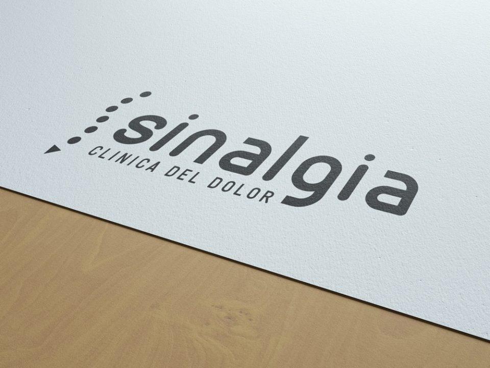 Clínica del dolor Sinalgia Branding Al Sur Estudio Cádiz